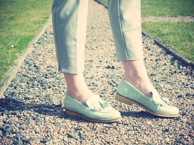 mint-tassle-loafers