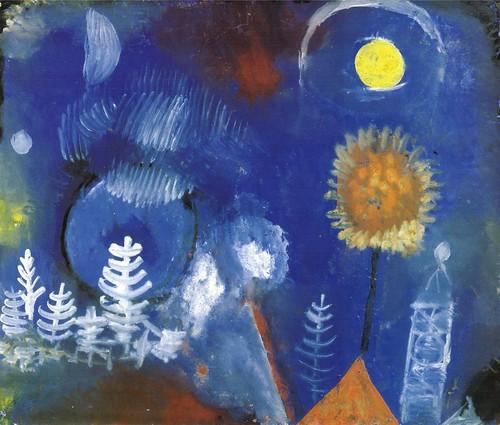 Paul Klee - 1918 - Paysage du temps passe