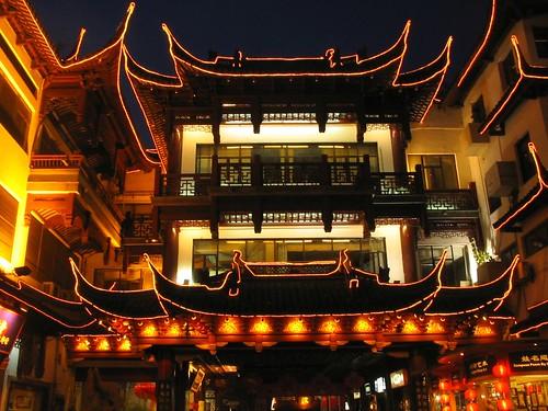 Light at Yuyuan Garden