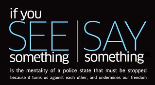 See Something Say Something — Police State