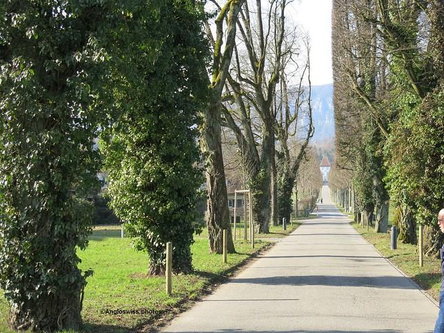 Path to castle Waldegg, Feldbrunnen
