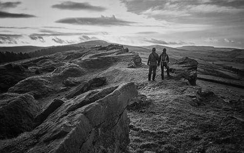 UK - Windgather Rocks - Family Portrait 28-12-13