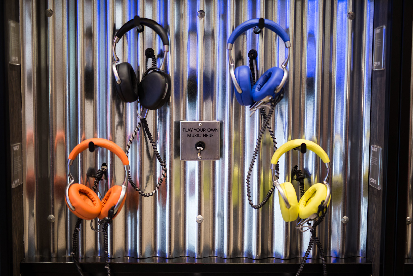 Selfridges headphones launch