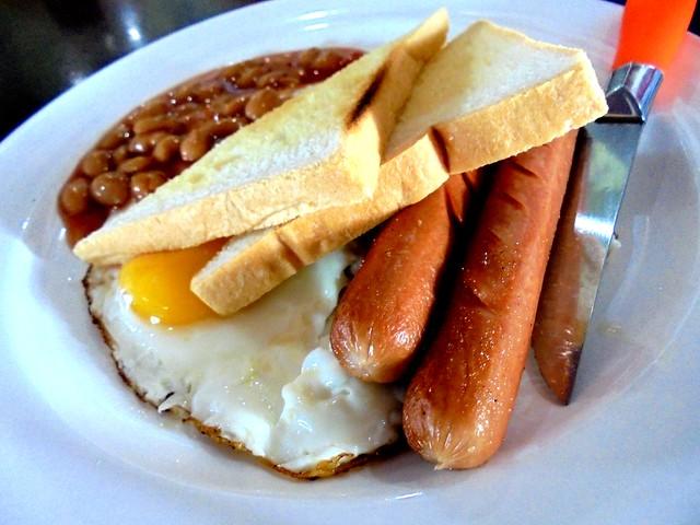 Opps American breakfast