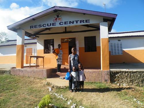 Madam Mercy picks Shainuru & Nuru up from the Rescue Centre
