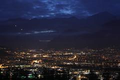 Innsbruck double exposure