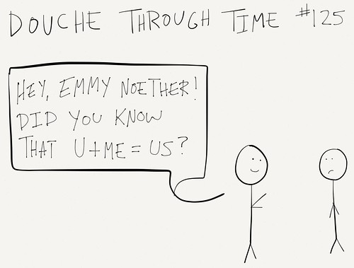 Douche Through Time - Emmy Noether