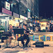 in Taiwan Taichung . 台灣台中  street musicians   一中益民商圈飛翔猴子樂團演出  DSC_5397