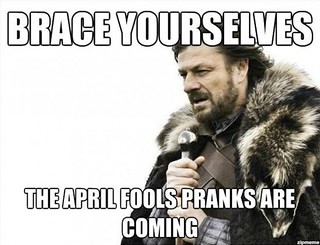 April Fools Day Is Coming