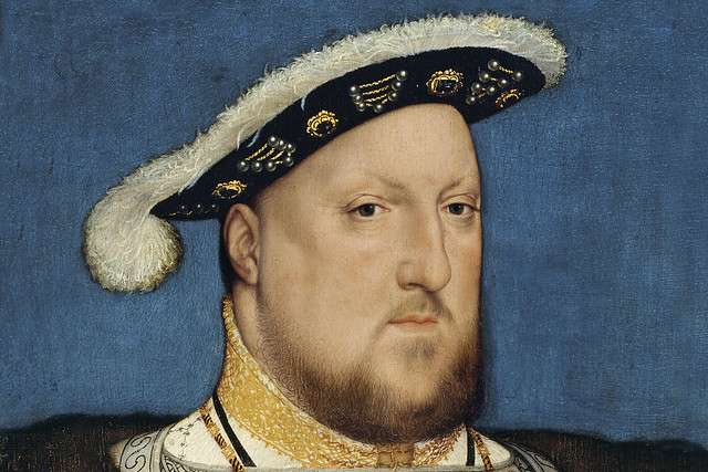 Henry VIII by Hans Holbein the Younger, 1537. Courtesy WikiCommons/Google Art Project