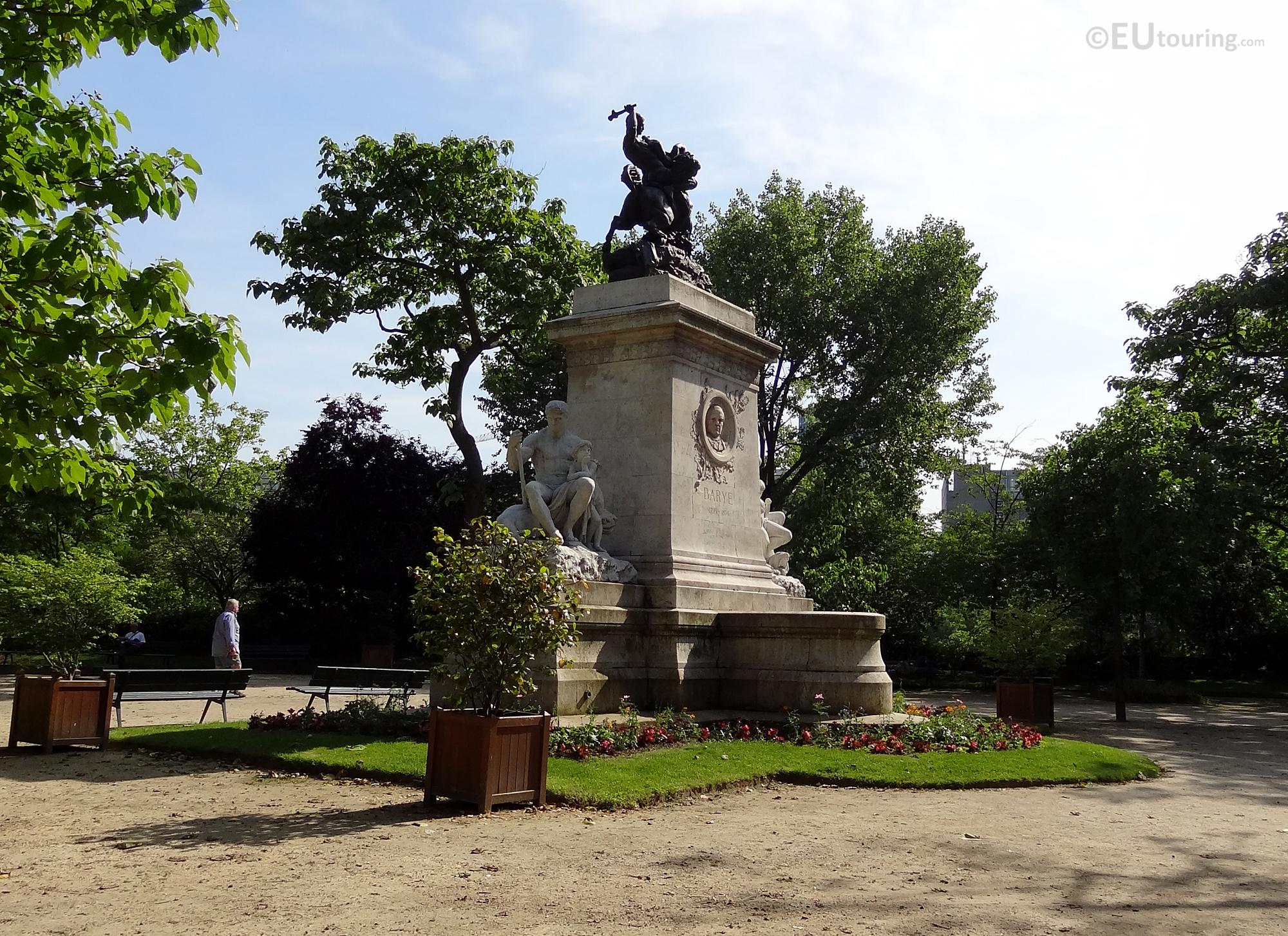 Antoine Louis Barye monument