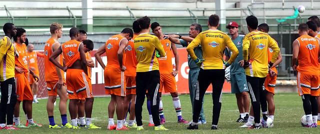 Fluminense começa preparação para o duelo da semi com o Botafogo
