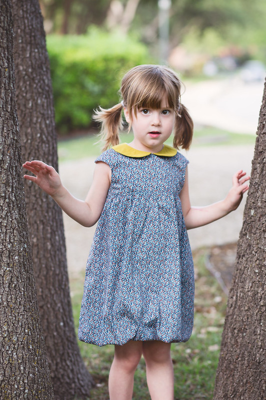 O + S Bubble Dress