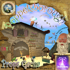 Now Available @ The Last Weekend At The Fantasy Faire SL 2015 - Poppetsborough Props Gacha