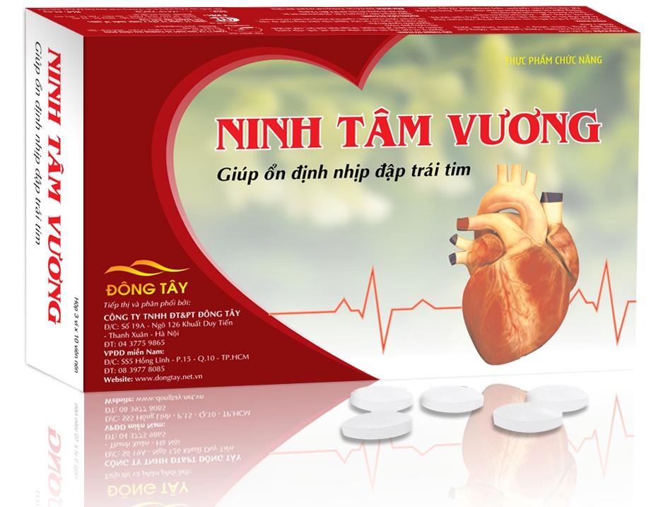 Tpcn Ninh Tâm Vương giúp ổn định nhịp đập trái tim