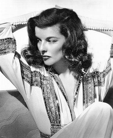 Vintage WWII Pinup Photo Katharine Hepburn