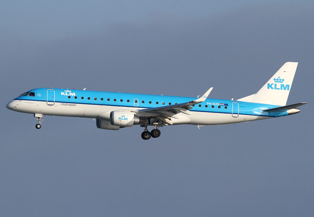 Short final for RWY04L inbound from Amsterdam AMS. Delivered 04/2012.