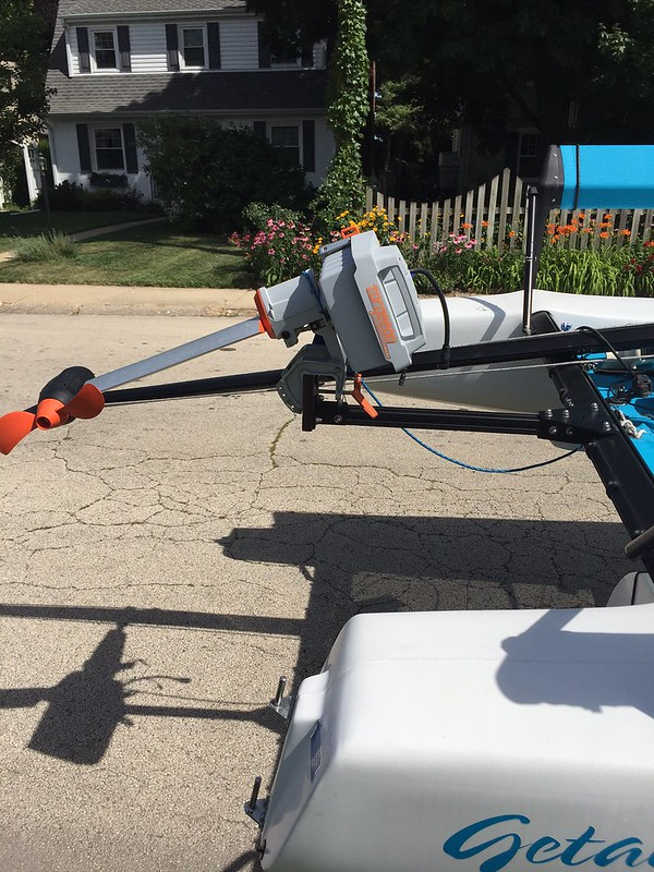 Hobie Forums • View topic - Motor mount (my own design)
