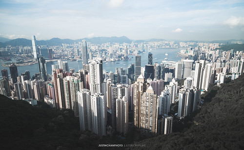 Hong Kong Skyline | by Justin Chan Photography
