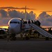 Passengers boarding in Porto at sunset by B℮n