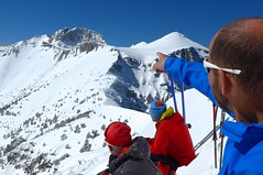 Skitouren in Griechenland, Besteigung Olymp/Mitikas, 2918 m. Foto: Herbert Streibel.