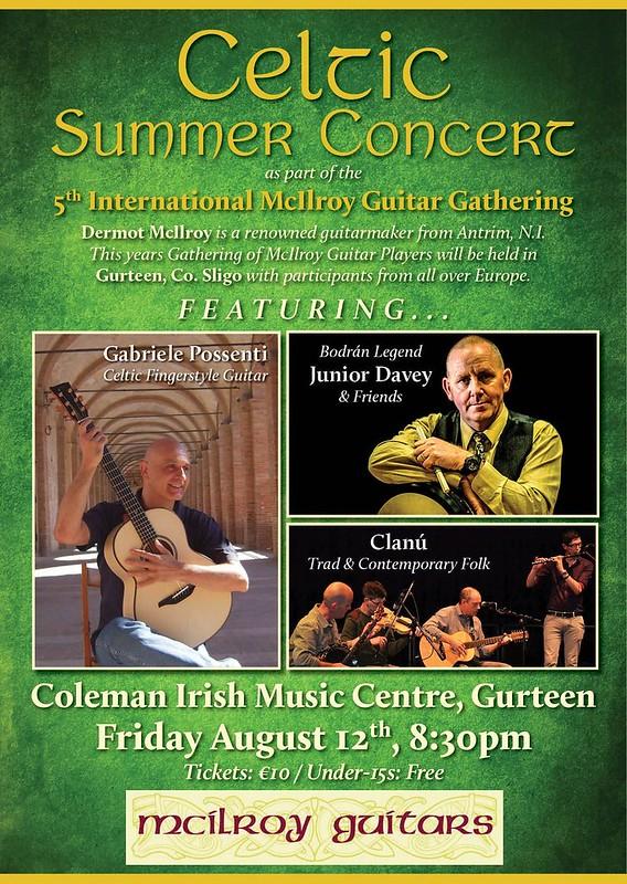 Gurteen Poster - Celtic Summer Concert