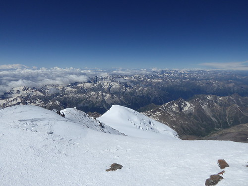Looking south from Elbrus