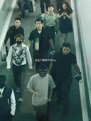 BIGBANG GDTOPDAE arrival Hangzhou 2015-08-25 151