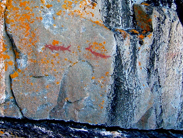 Agawa pictographs