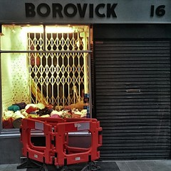 It's good to see that Borovicks is still soldering on through the ripping out of the soul of Berwick St.  #soho #gentrification #london #W1 #shopfronts