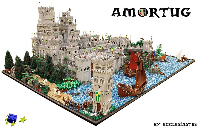 The Fortified City Of Amortug The Brothers Brick The