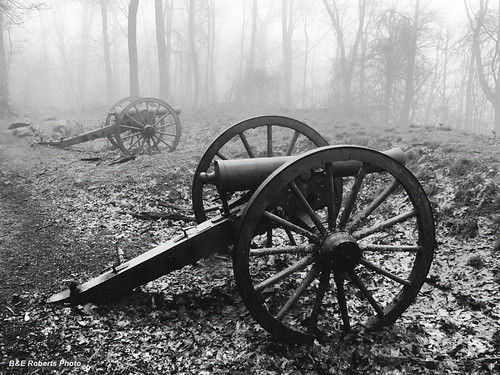 Smoothbore Cannons in the fog
