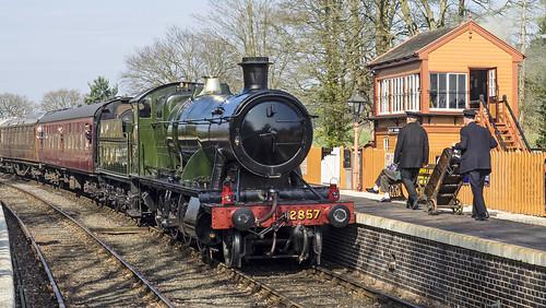 GWR 2857 at Arley SVR 450 (78)