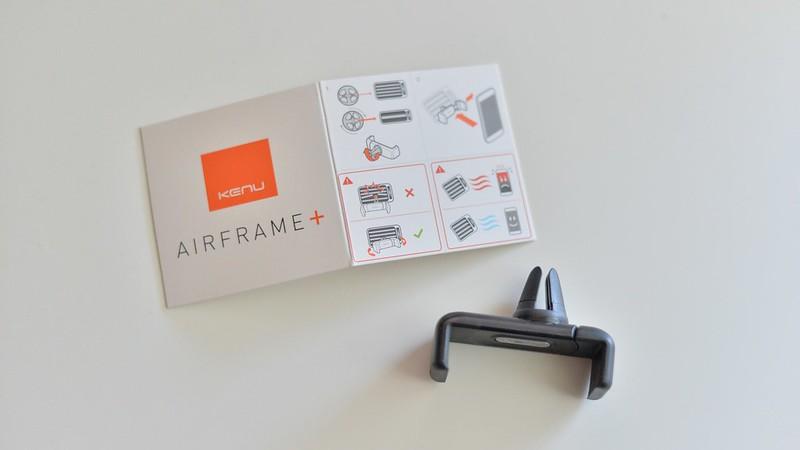 説明書とKenu Airframe+