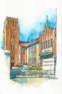 Sketching Maryknoll Convent School