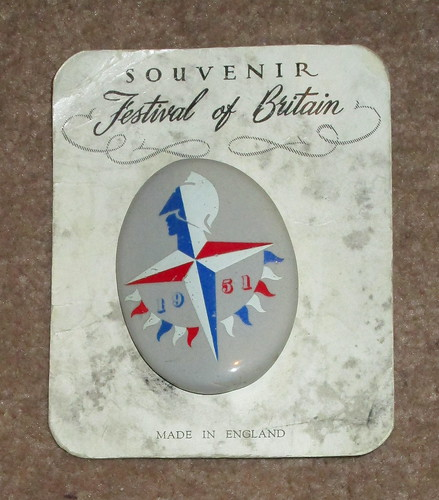 Festival of Britain badge