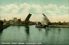 Cuyahoga River Scene