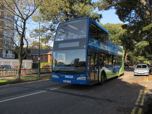 Go South Coast 1401 Scania / Optare Visionaire