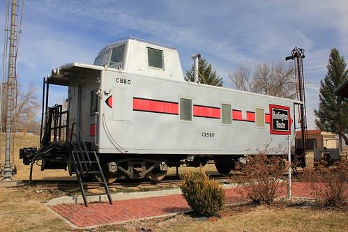CB&Q Caboose 13560 - Brownville, NE