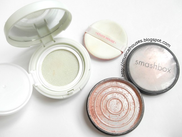 Empties March Etude House Magic Any Cushion Smashbox Highlighter