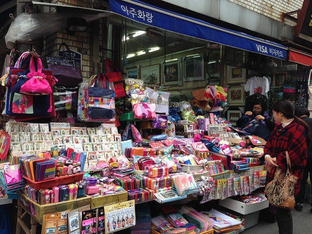 Another souvenir shop in Insa-dong