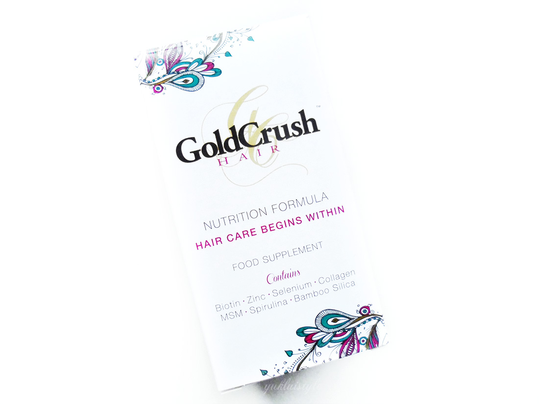 GoldCrush Hair Nutrition Formula review