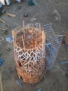 Image of Afrikaburn. build afrikaburn afrikaburn2014 subterrafuge