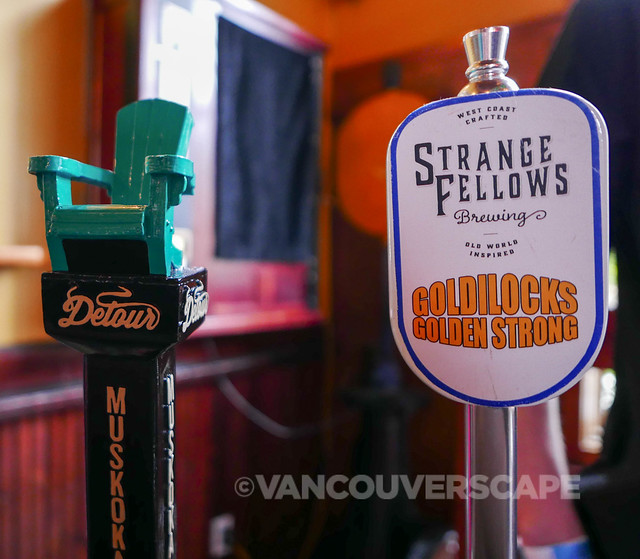 2015 Howe Sound Brewery Tap Takeover: Muskoka and Strange Fellows