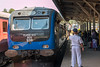 Single Line token pick up at Gampola