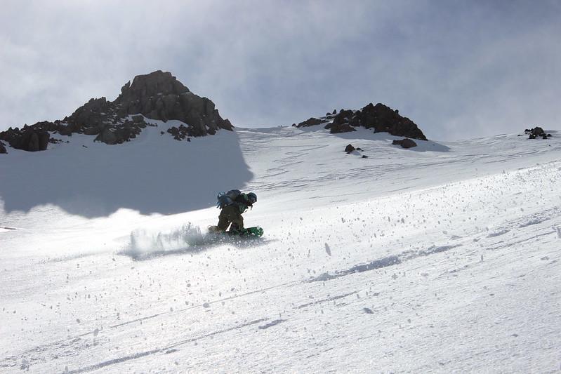 Isaac Silverman ripping Lassen Peak