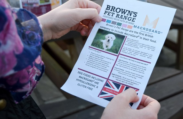 Browns Pet Range Dog Food