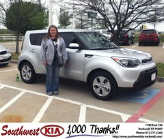 #HappyBirthday to Wendy Jarvis from Paula  Lovejoy  at Southwest KIA Rockwall!