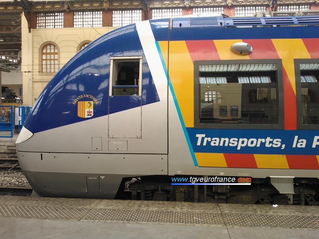 Un Autorail à Grande Capacité bimode de Bombardier Transport