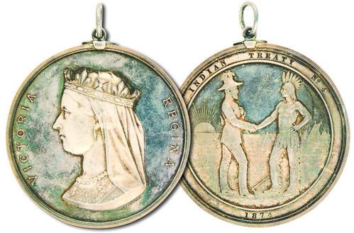 Treaty 4 medal